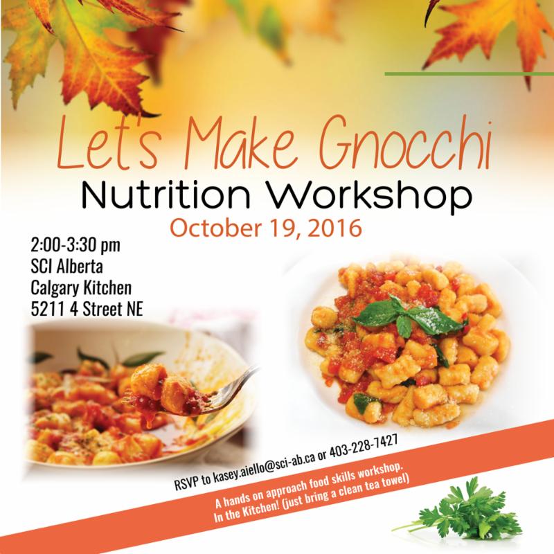 Gnocchi Nutrition Workshop