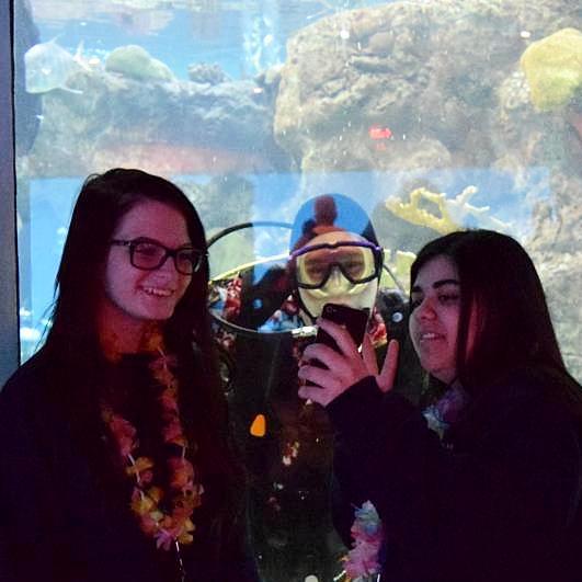 SCUBA Selfies