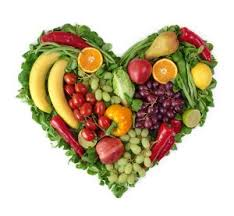 Heart shaped fruits and Vegies