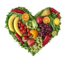 Heart shaped fruits and Vegies