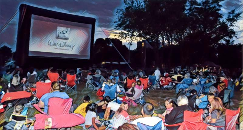 Phillips Park - FREE MOVIES IN THE PARK