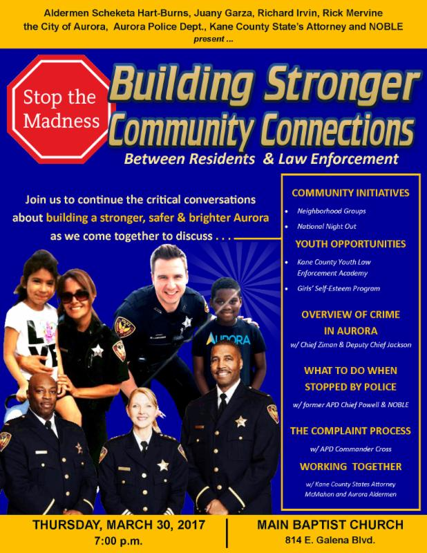 Aurora, IL - Building a Stronger, Safer & Brighter Aurora