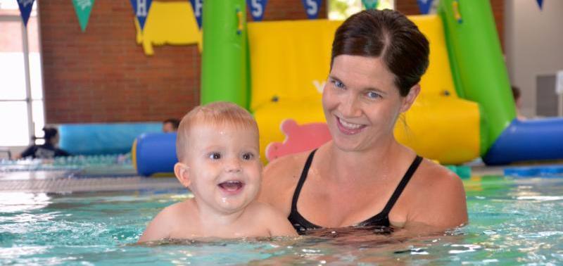 Baby Swim, Mom Baby