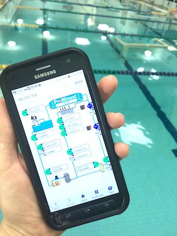 Cell Phone Pool Control Text Message