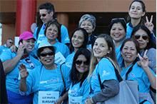 image of walk participants