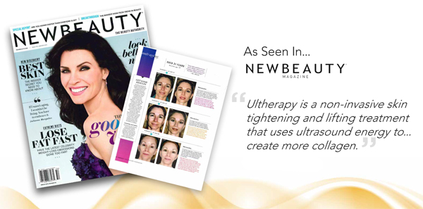 Ultherapy seen in New Beauty