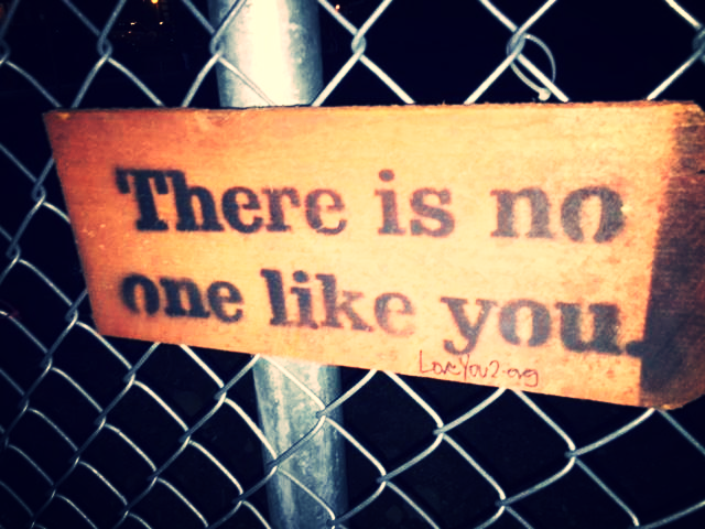 there is no one like you