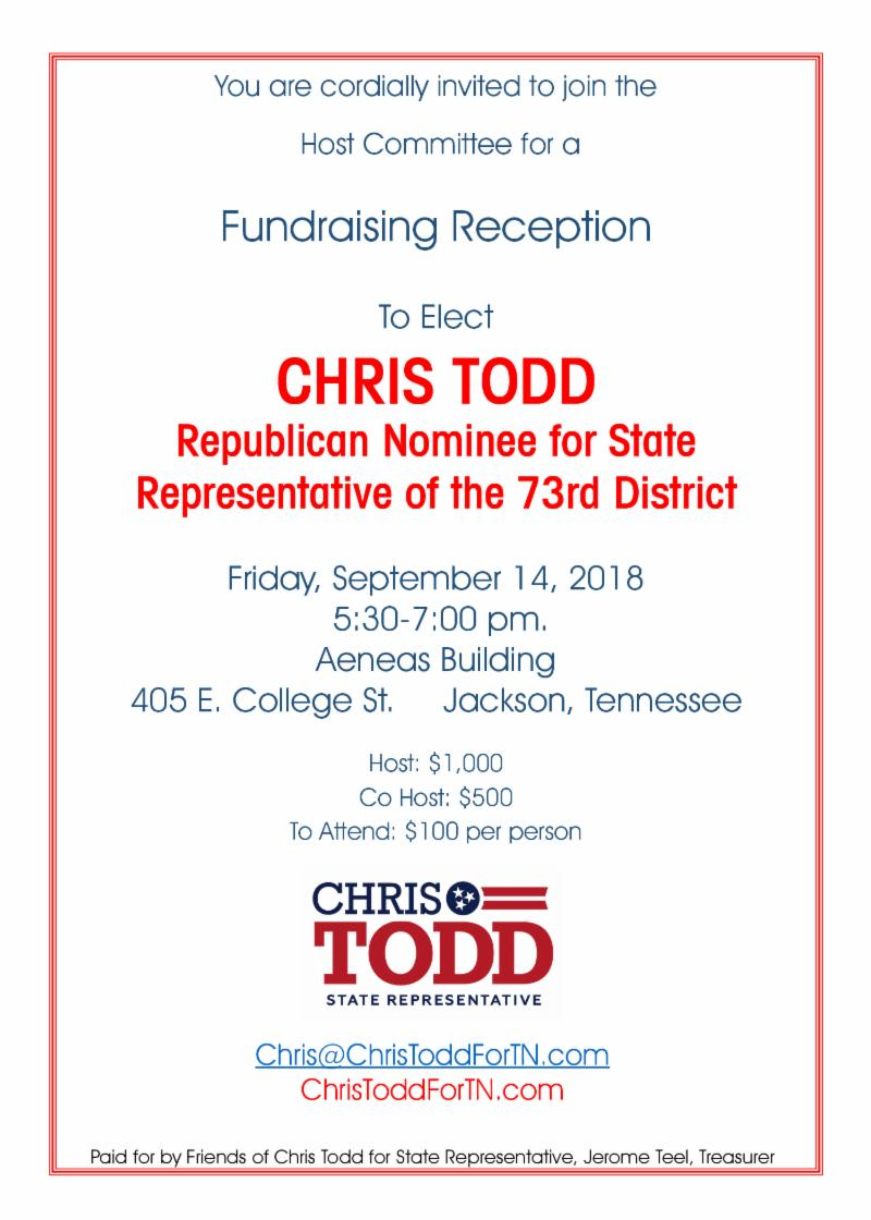 Chris Todd Reception