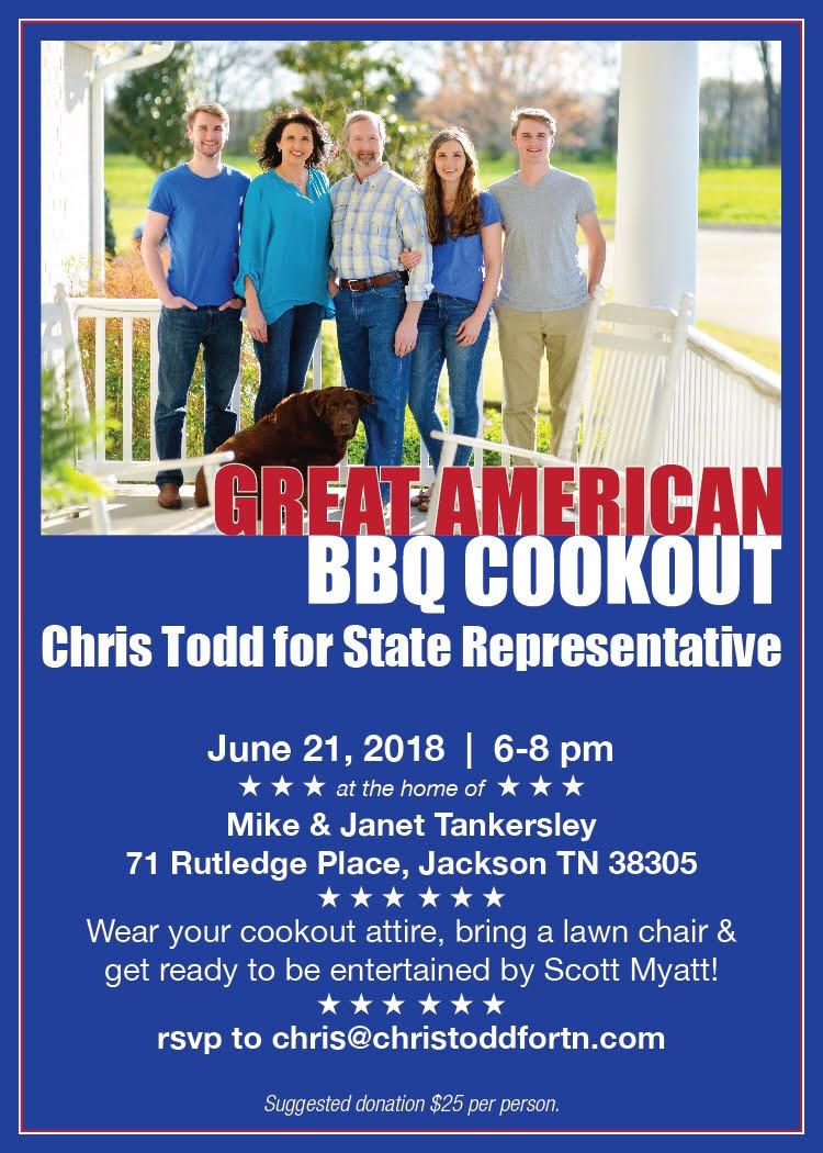 Chris Todd Event…. Come and Enjoy