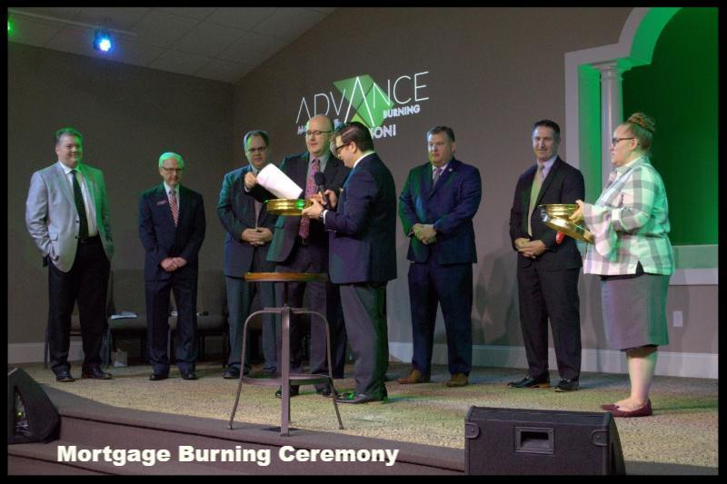 Mortgage Burning Ceremony