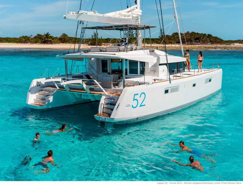 BRAND NEW 2019 LAGOON 52 OPEN FOR CHRISTMAS 2018 IN BVI.