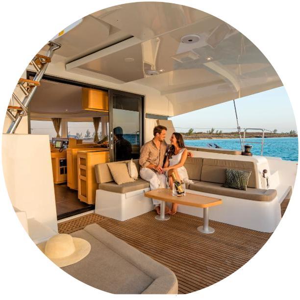 BVI sailing catamaran charter vacation