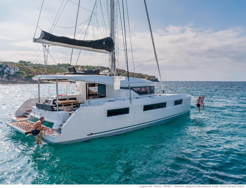 Early Bird Discount on the hottest bareboat in Charter. Book the new design Lagoon 50 from December of 2019 and get  15% discount for any Saturday to Saturday start