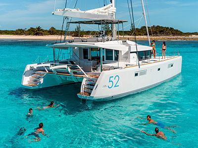 Charter catamaran bvi