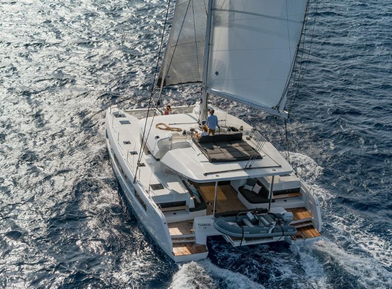 charter this luxury catamaran