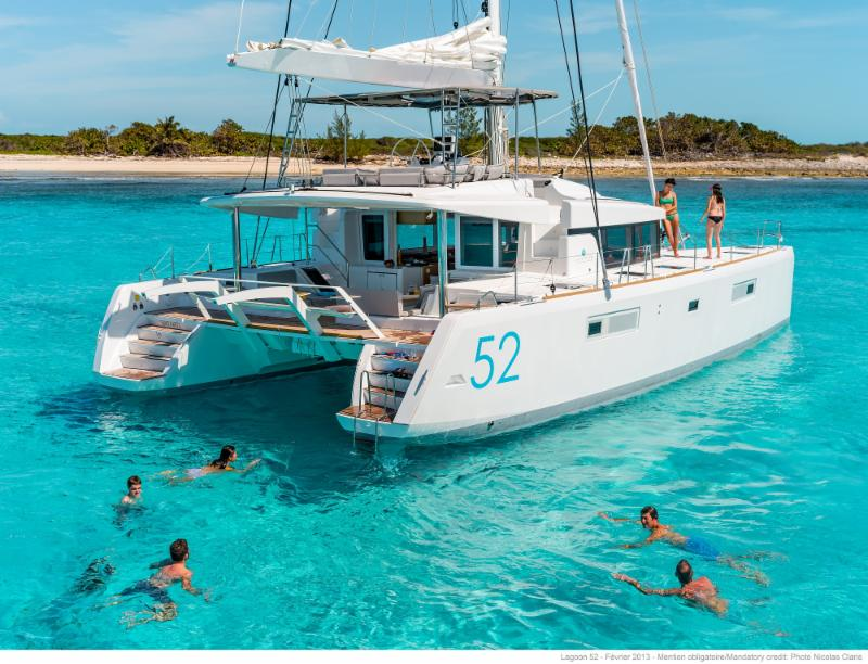 New  2019 Lagoon 52 'Nauti By Nature II' arriving October in Tortola