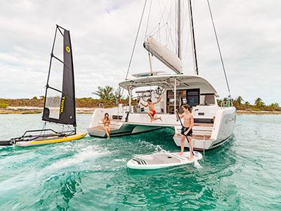 Catamaran vacation