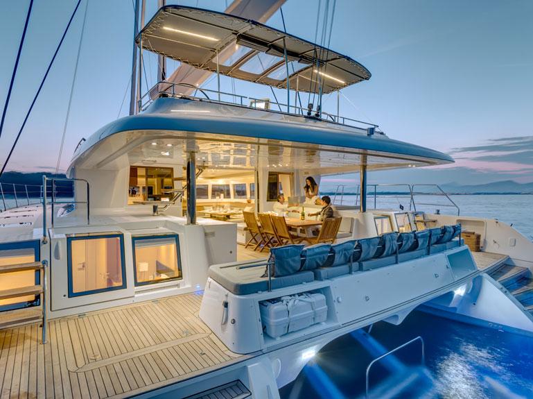 sailing catamaran vacation