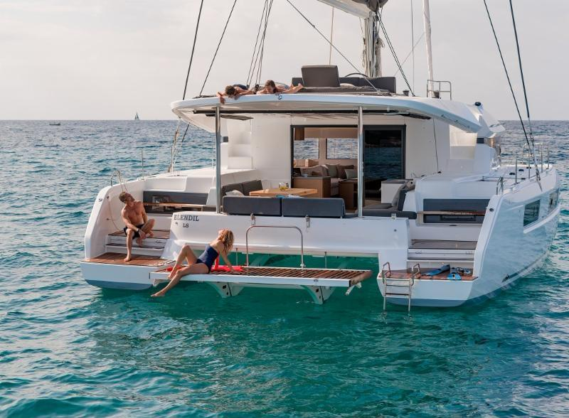 Introducing the First Lagoon 50 in bareboat charter in the Caribbean