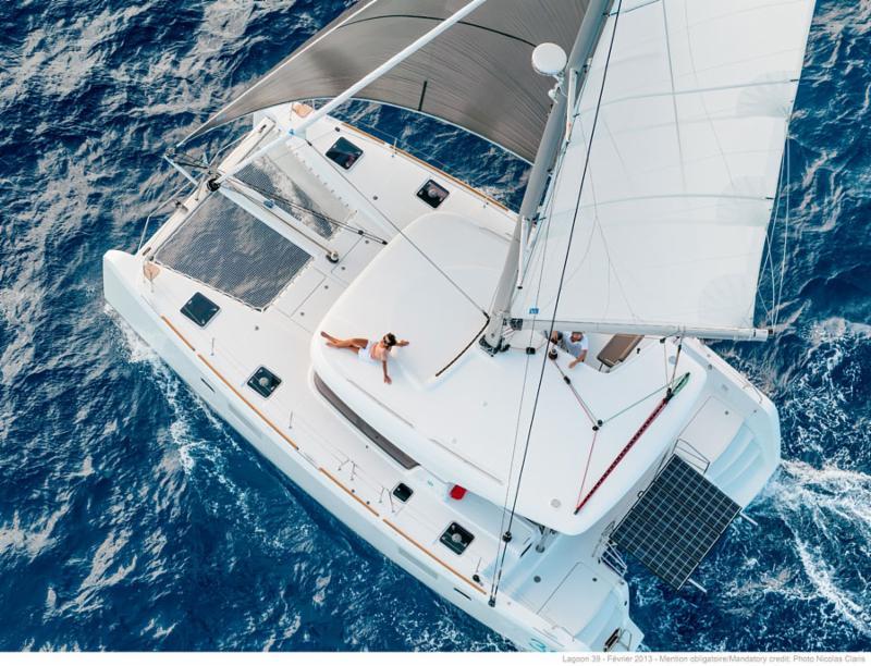 Lagoon charter catamaran
