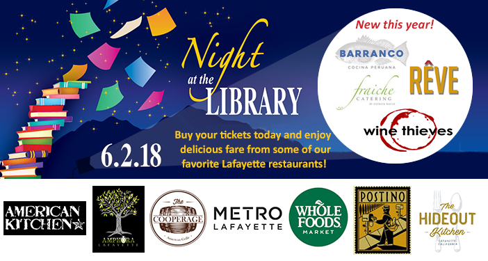 Lafayette Library's Night at the Library