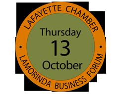 Lamorinda Business Forum - Thursday_ October 13