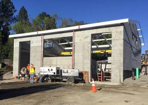 EBMUD Diablo Vista Pumping Plant Construction