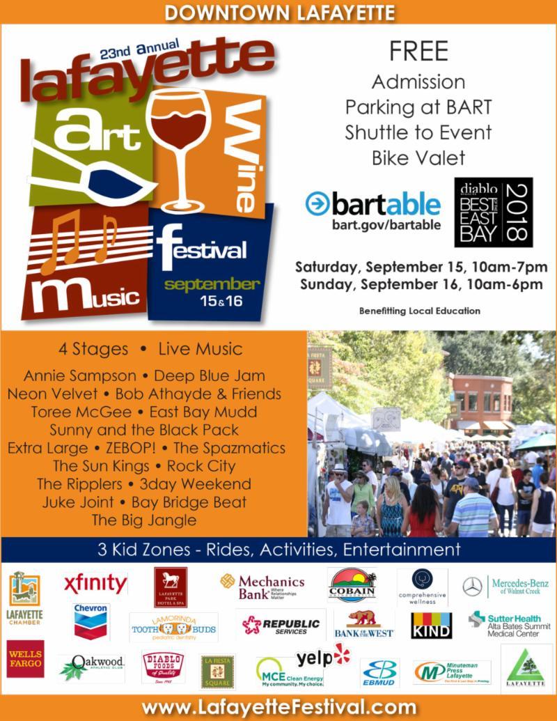 Lafayette Festival Poster