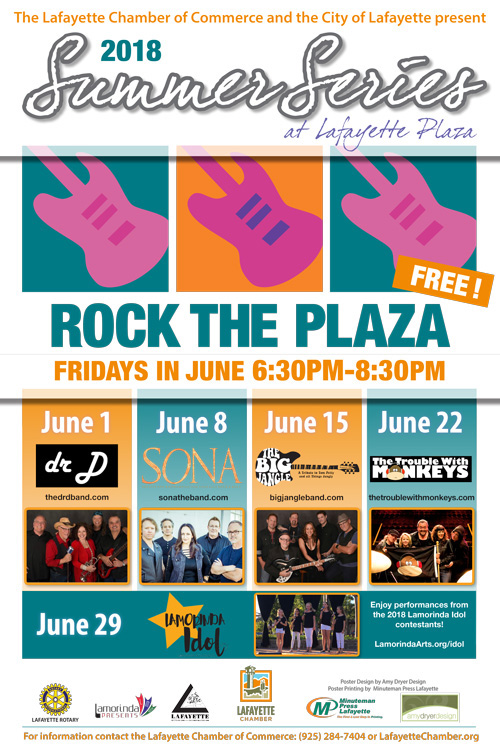 Rock the Plaza 2018