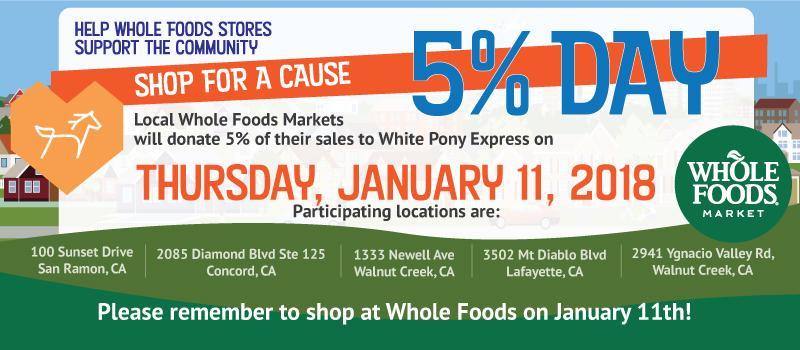 Whole Foods White Pony