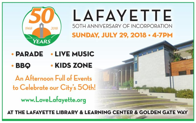 Lafayette's 50th Anniversary of Incorporation