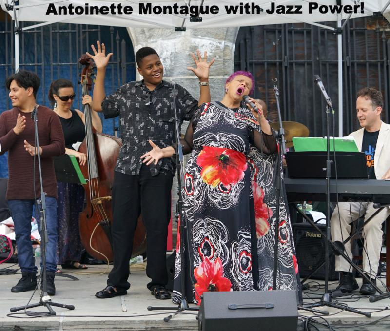Antoinette Montague and Jazz Power