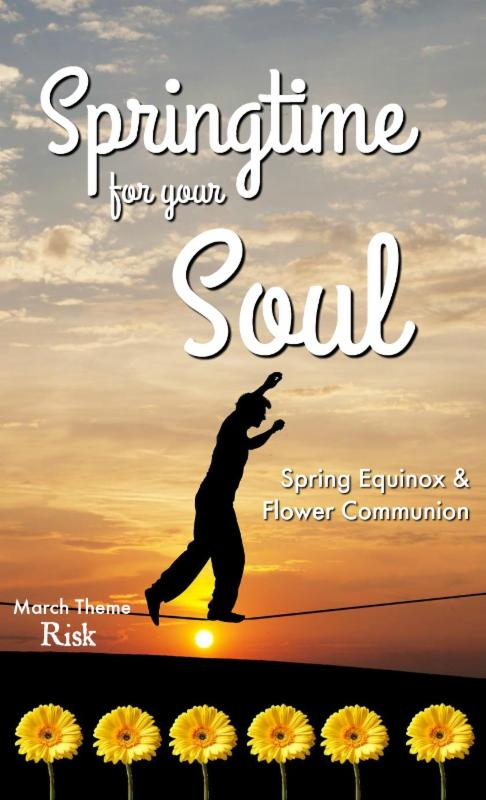 Springtime for Your Soul _ walking tightrope  image