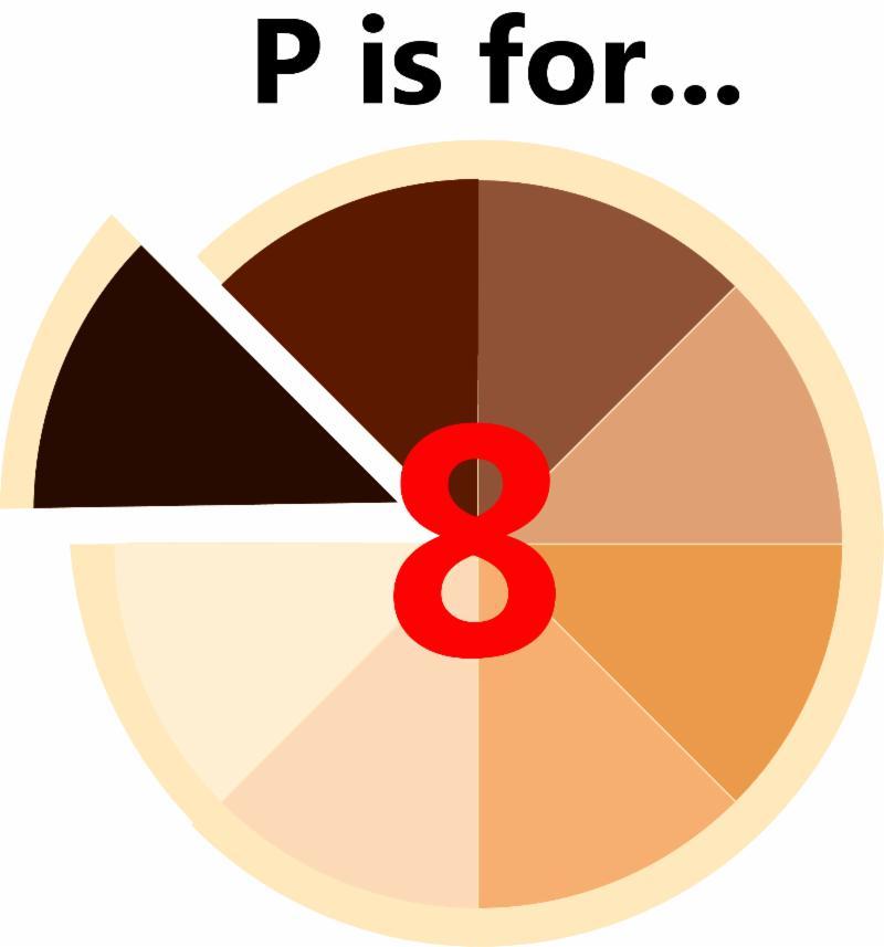 8th Principle pie image