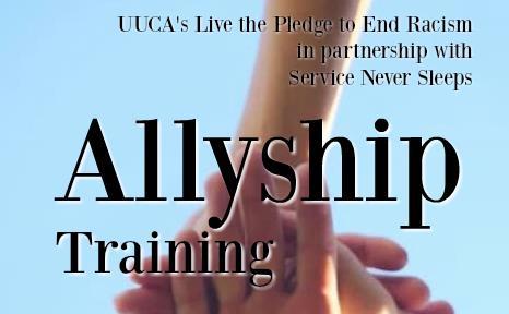 Allyship image of hands