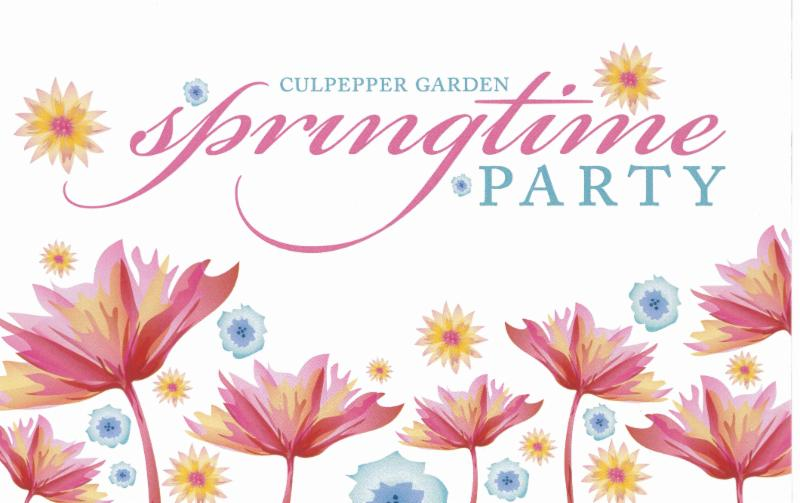 Culpepper Springtime Party invite image