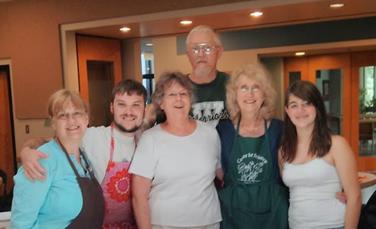 kitchen crew photo