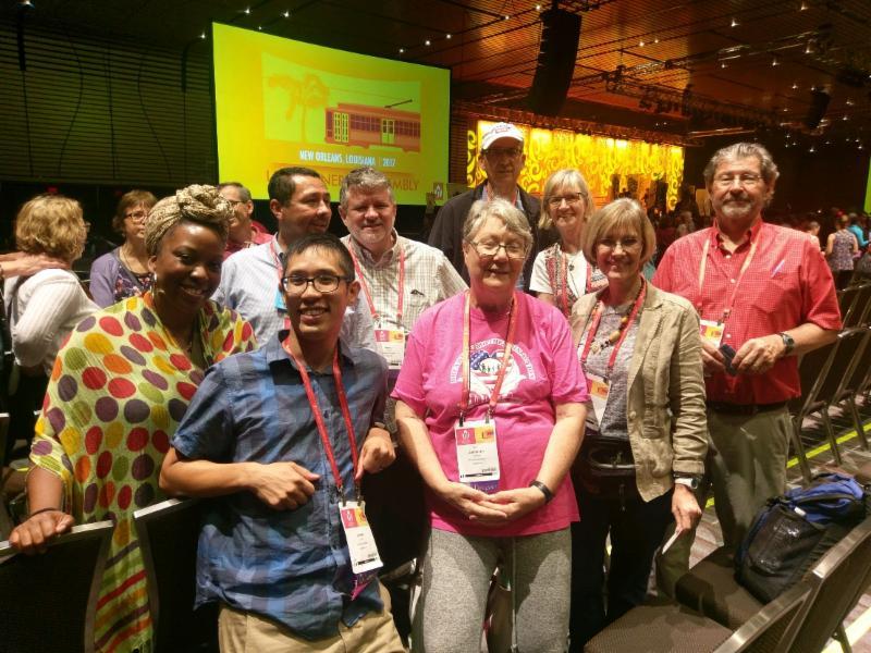 UUCA GA delegates