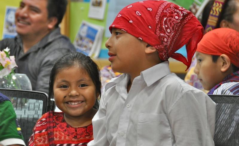 Guatemalan children photo