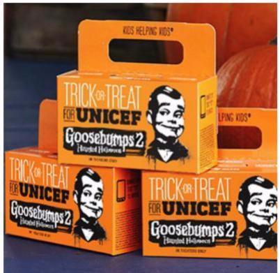 UNICEF boxes