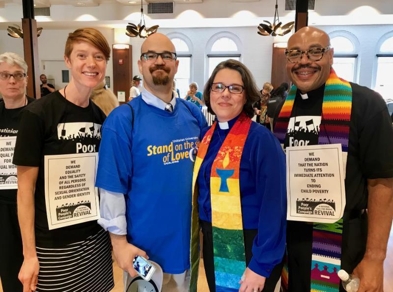 Elisabeth Geschiere, Pablo de Jesus, Rev. Susan Frederick-Gray, Rev. Michael Crumpler