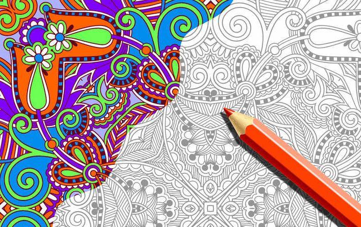 coloring night