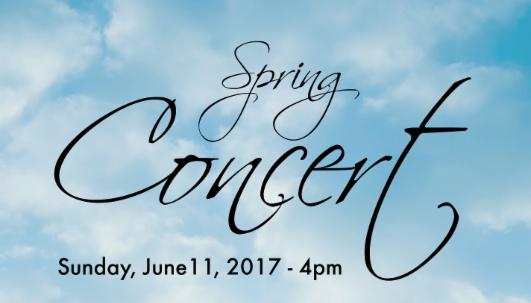 Spring Concert - Sun. June 11_ 4pm