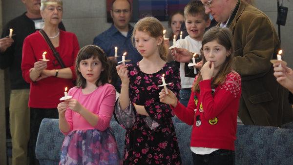 Christmas Eve Candle lighting