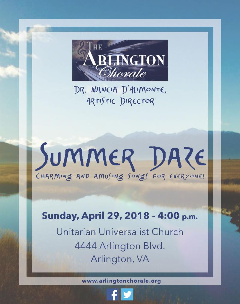Summer Daze Concert - April 29, 4p.m.