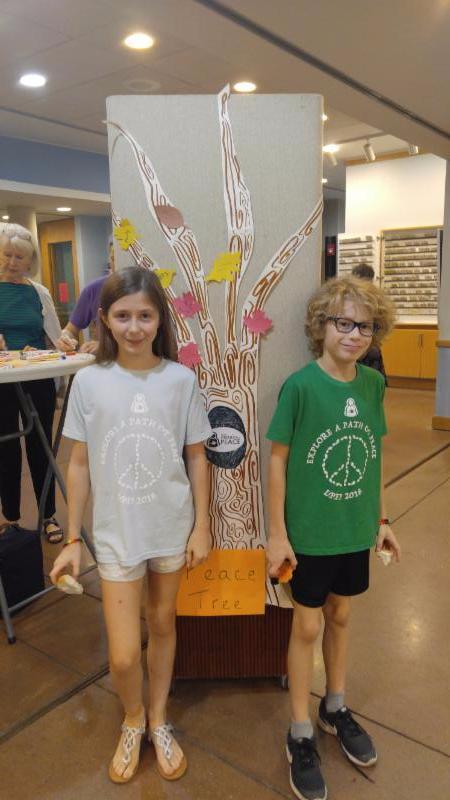 Peace Tree w/ Savannah & Josh