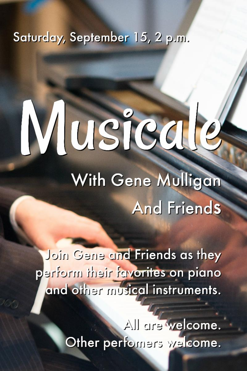 Musicale - Sept 15, 2pm