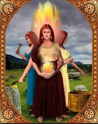 Brigit Goddess image