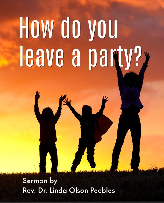 How do you leave a party_
