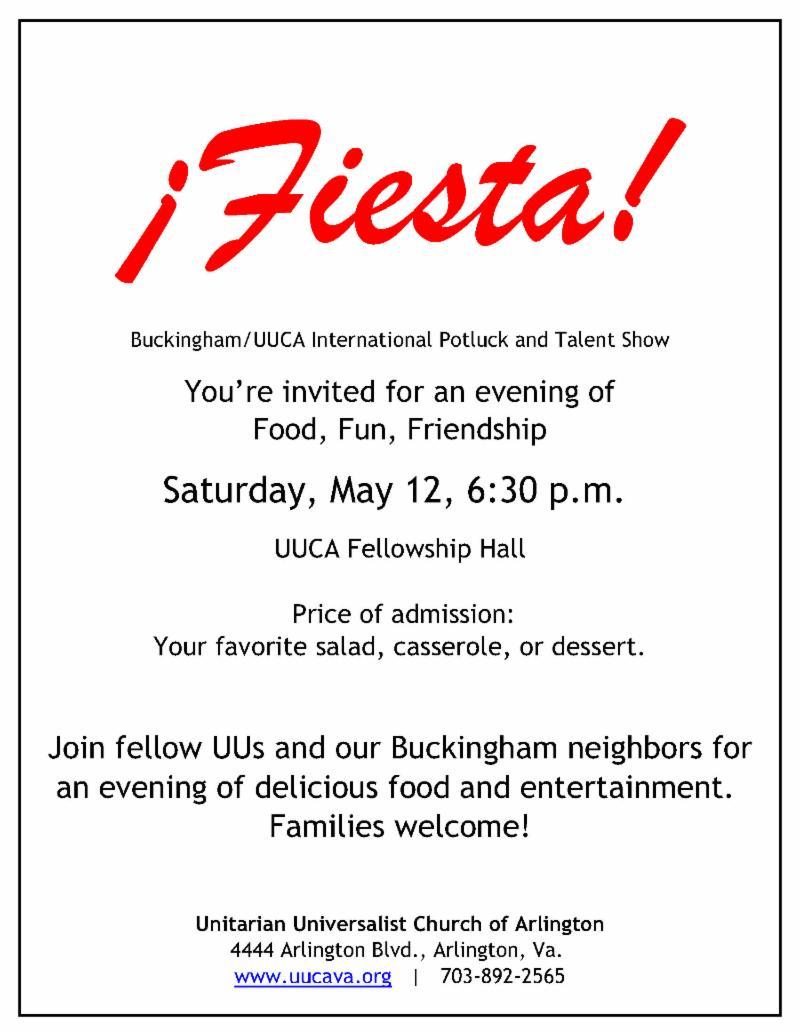 Fiesta flyer